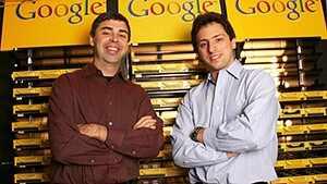 Сергей Брин и Ларри Пейдж в Google