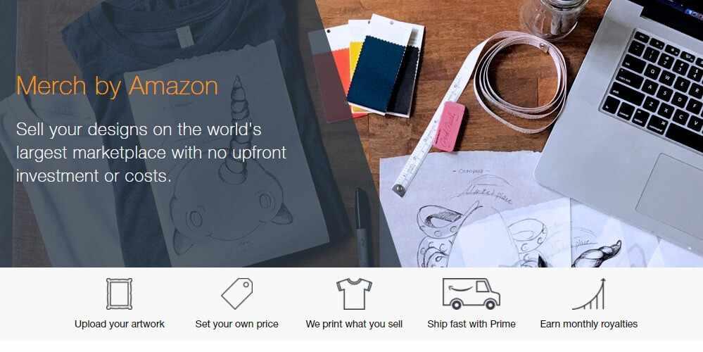 Заработок на футболках с Amazon