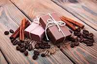 Мыло с ароматом кофе