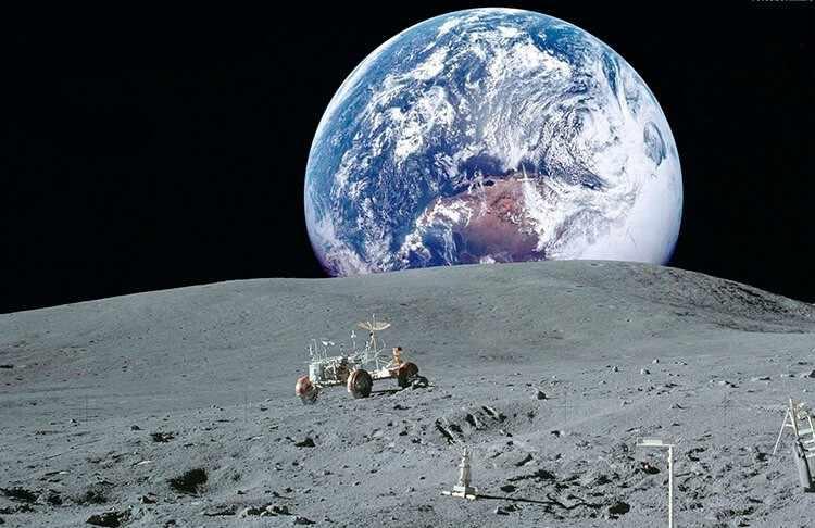 Сколько лететь с Земли до Луны
