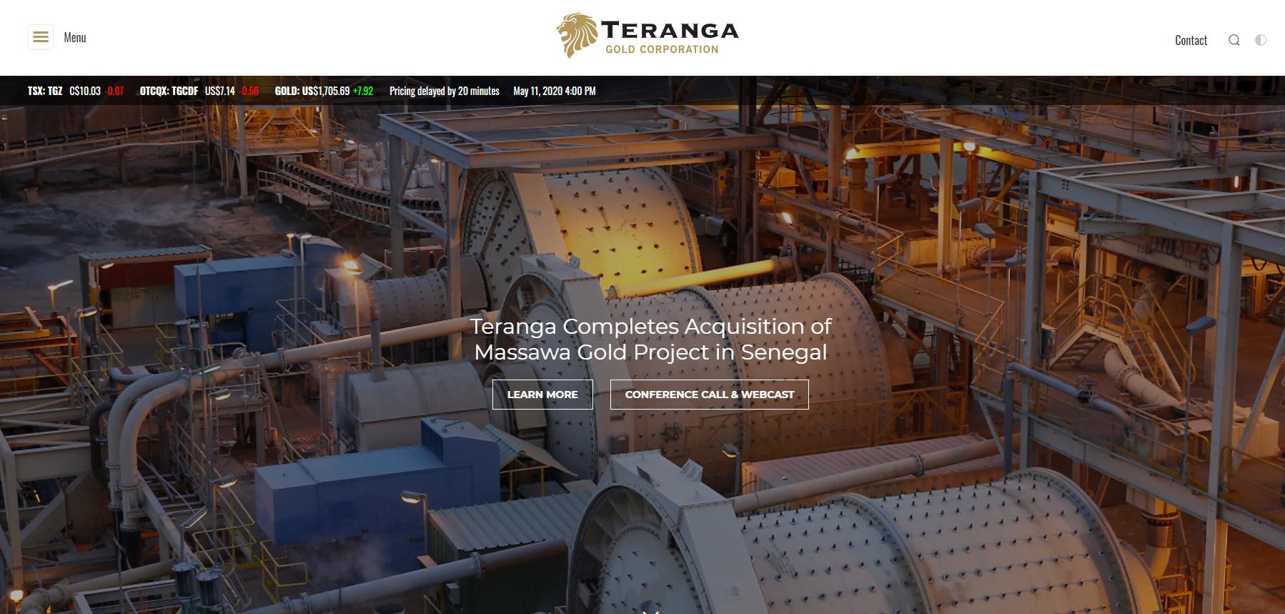 Teranga Gold (TSX:TGZ)